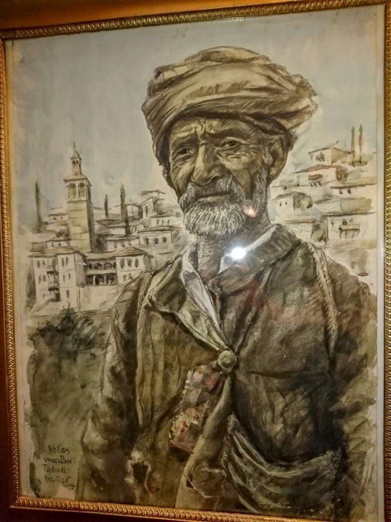 Неидентификуван сликар (Wunderwald?) тутуноберач од Велес, акварел и молив