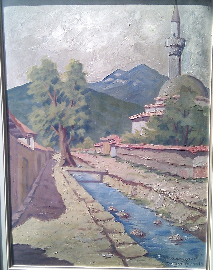 Vasil-Makedonski-1900-–1980-Bitola-1943-oil-on-panel