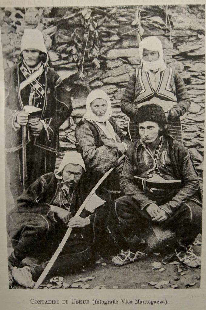 "Vico-Mantegazza-1856-1934-Farmers-from-Uskub-from-the-book-""Macedonia""-March-April-1903"