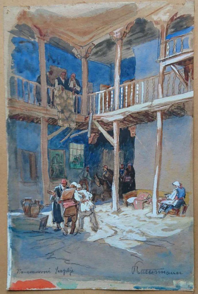 Willem Battermann (1872 -1976), Turkish An, Skopje